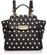 Zac Posen Eartha Iconic Faux-Pearl Convertible Leather Backpack