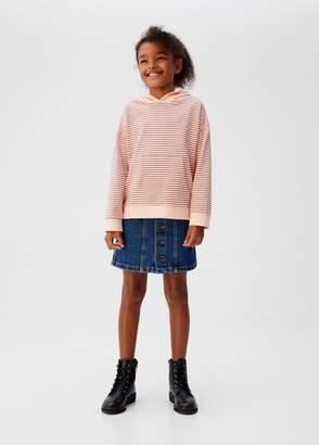 MANGO Cotton hoodie
