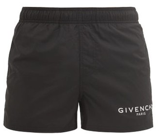 Givenchy Logo-printed Swim Shorts - Black