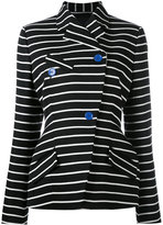 Proenza Schouler striped blazer - women - Cotton/Viscose/Wool - 4