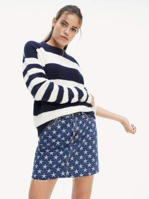 Tommy Hilfiger Bold Stripe Crew Neck Jumper