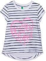 Benetton Girl's T-Shirt,(Manufacturer Size:1 Year)