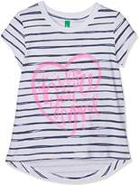 Benetton Girl's T-Shirt,(Manufacturer Size:X-Small)