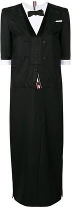 Thom Browne Tuxedo-Style Dress