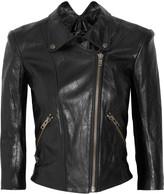 Jotor leather biker jacket
