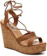 Steve Madden Women's Wynwood Wedge Sandal -Light Brown