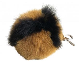Fendi ABCharm Yellow Fox Bag charms