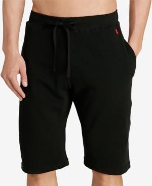 Polo Ralph Lauren Men's Waffle-Knit Pajama Shorts
