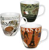 Konitz Cosmopolitan 3-pc. Assorted Coffee Mug Set