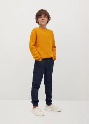 MANGO Organic cotton knit sweater
