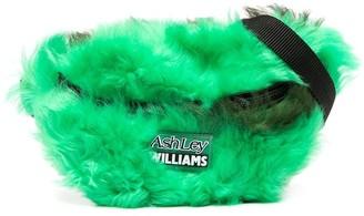 Ashley Williams Shearling Belt Bag