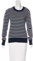 A.L.C. Wool-Blend Striped Sweater