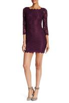 Diane von Furstenberg Zarita 3/4 Sleeve Lace Dress
