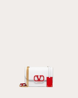 Valentino Small Vlock Calfskin Shoulder Bag Women Rose Cannelle 100% Pelle Di Vitello - Bos Taurus OneSize
