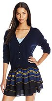 Juicy Couture Black Label Women's Panther Sequin Sweater Cardigan