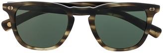 Garrett Leight Brooks square-frame sunglasses