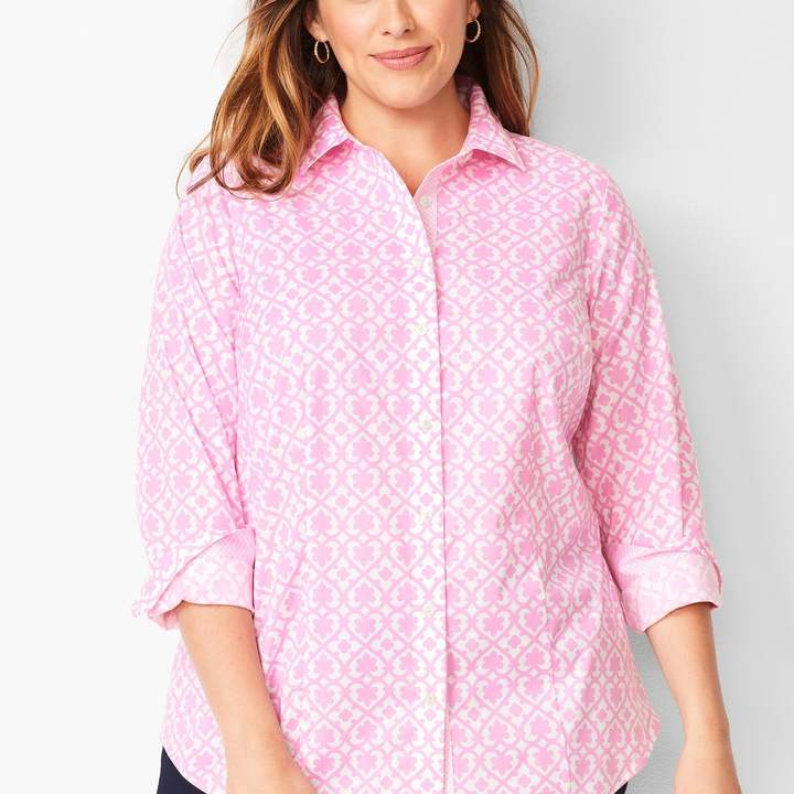 9acf3d345 Talbots Pink Petite Tops - ShopStyle