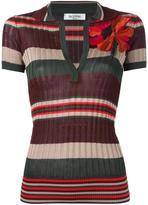 Valentino striped polo shirt