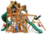Gorilla Playsets Malibu Deluxe I Swing Set with Amber