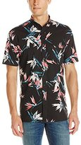 Barney Cools Men's Floral Short Sleeve Shirt