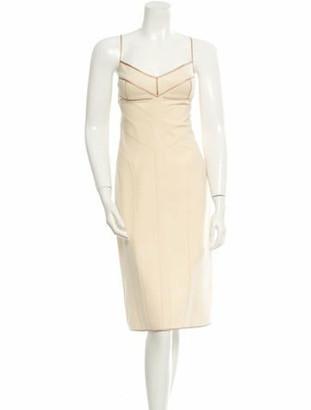 Narciso Rodriguez Dress Beige
