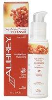 Aubrey Organics Aubrey Age-Defying Therapy Antioxidant Hydrating Cleanser with Sea Buckthorn -- 3.4 fl oz