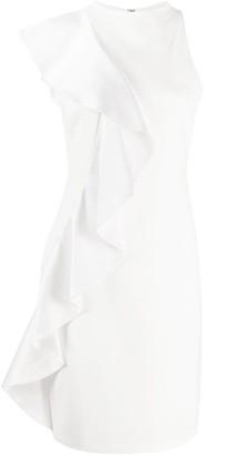 Alice + Olivia Alice+Olivia draped detail sleeveless dress