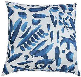 Imagine Home Lino Throw Pillow - Blue/White 20x20