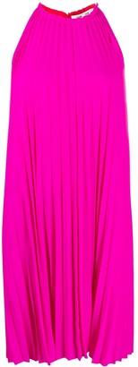 Dvf Diane Von Furstenberg Pleated Shift Dress