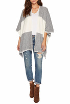 Bishop + Young Two Tone Shawl Poncho