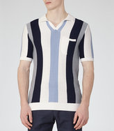Reiss Merival Striped Polo Knit