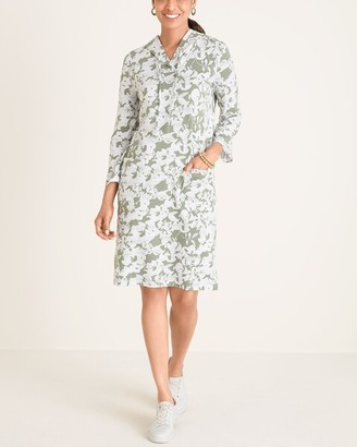Zenergy UPF Hooded Floral Dress