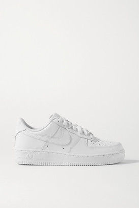 Nike Air Force I Leather Sneakers - White