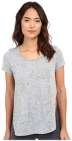 Yummie by Heather Thomson Jersey Burnout Tee w/ Side Vents