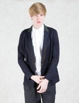 Kolor Double Breasted Contrast Collar Blazer