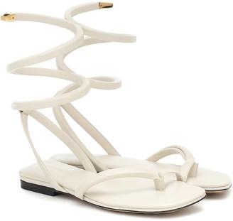 Bottega Veneta Spiral thong sandals