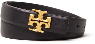 "Tory Burch 1"" Kira Logo Belt"