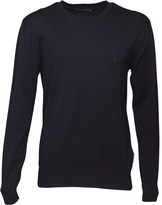 French Connection Mens 12G Crew Neck Jumper Marine