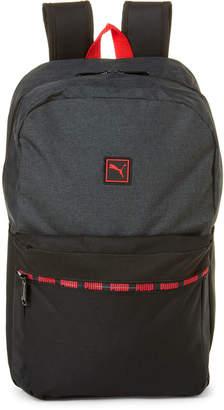 Puma Grey & Black Life Lineage Laptop Backpack