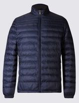 Marks and Spencer Printed Quilted Jacket with StormwearTM