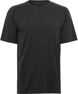 Lululemon Metal Vent Tech 2.0 Melange Stretch-Jersey T-Shirt - Men - Gray