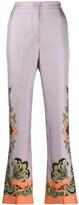 Etro paisley print trousers
