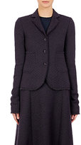 Nina Ricci Women's Tweed Three-Button Sportcoat-BLACK