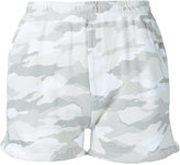 Loveless - camouflage track shorts - women - Cotton - 34