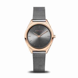 Bering Unisex Analogue Quartz Watch with Stainless Steel Strap 17031-369