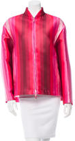 Valentino Striped Swing Jacket w/ Tags