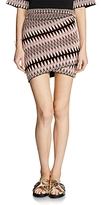 Maje Jenia Jacquard Mini Skirt