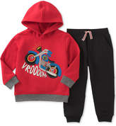 Kids Headquarters 2-Pc. Hoodie & Jogger Set, Toddler & Little Boys (2T-7)