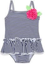 Little Me Baby Girls' Nautical Swimsuit