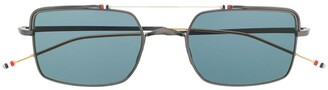 Thom Browne Eyewear aviator square sunglasses
